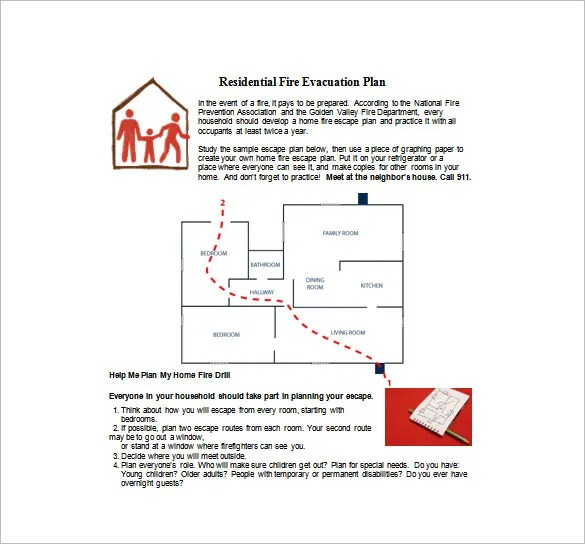 Fire prevention cover letter
