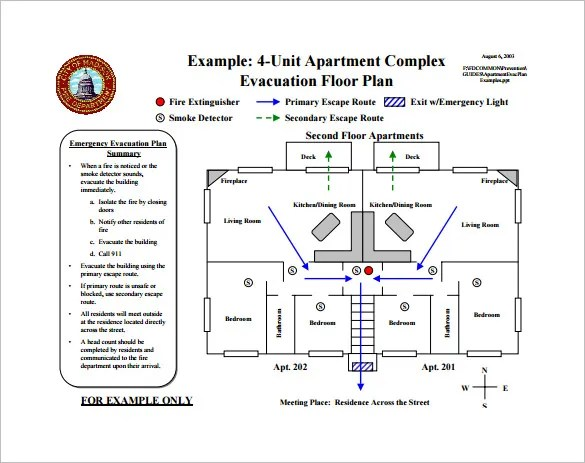Fire Escape Diagram Templates Online Wiring Diagram