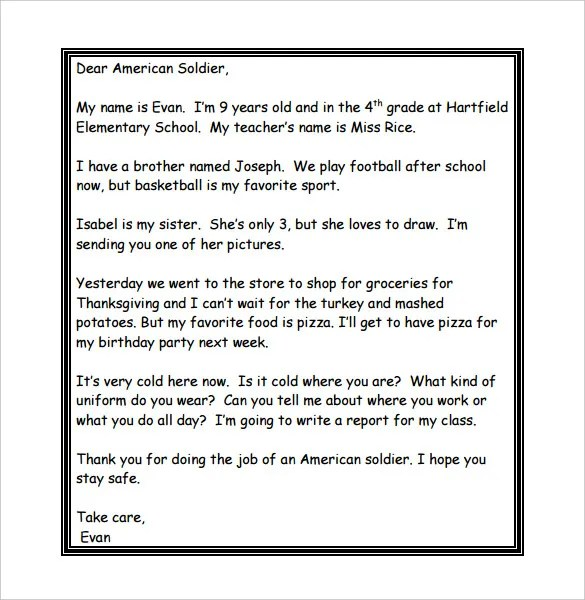 veterans thank you letters - Akbagreenw