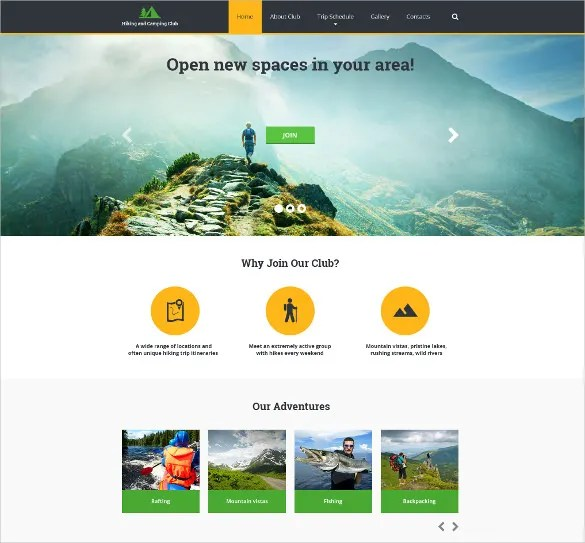 29+ Sports Website Themes  Templates Free  Premium Templates