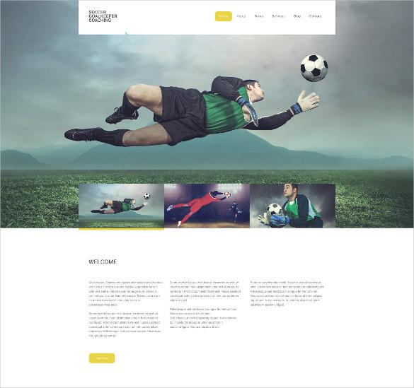 30+ Sports Website Themes  Templates Free  Premium Templates
