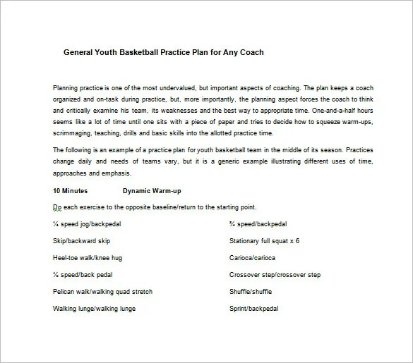 baseball practice plan template excel - Selol-ink - blank basketball practice plan template