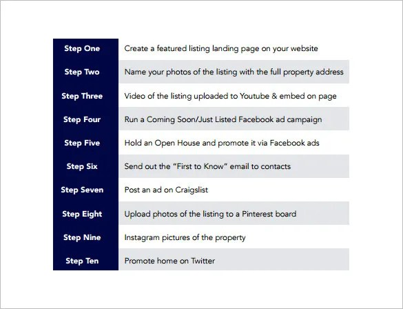 Social Media Marketing Plan Template - 10+ Free Word, PDF Documents