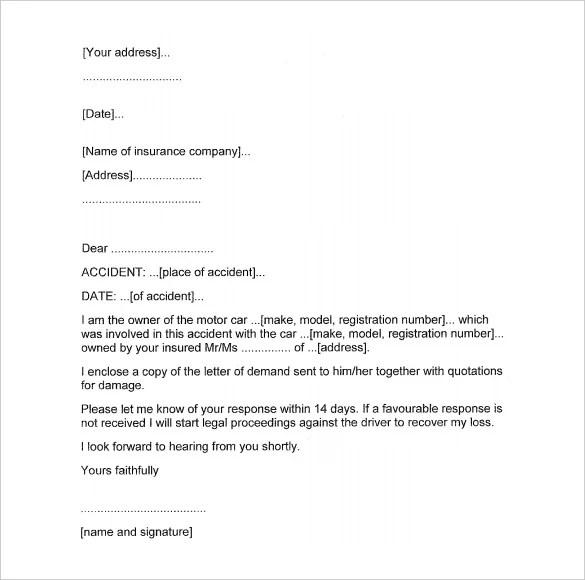 Sample Demand Letter Contract Breach | Resume Maker: Create ...