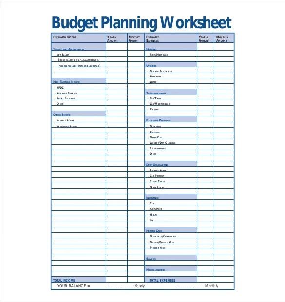 budget plan sample - Josemulinohouse