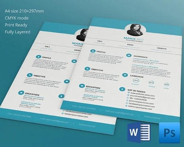 15+ Designer Resume Templates - DOC, PDF Free  Premium Templates