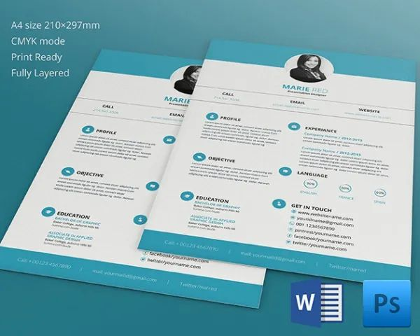 15 graphics designer resume template