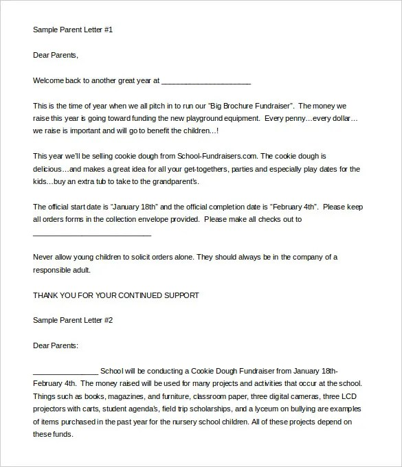9+ Fundraising Letter Templates - Free Sample, Example Format