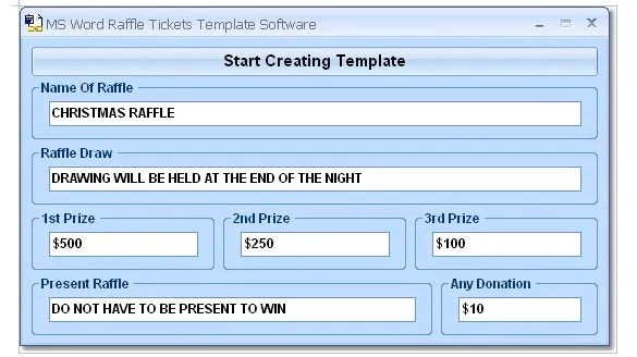 How to Create Tickets in Microsoft Word \u2013 Tutorial Free  Premium