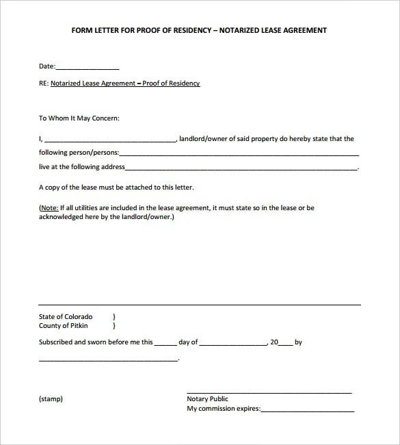 32+ Notarized Letter Templates - PDF, DOC Free  Premium Templates