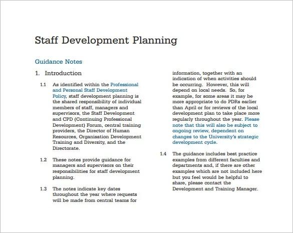 12+ Staffing Plan Templates \u2013 Free Sample, Example, Format Download