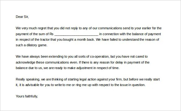 Letter Sample Collection Letter Threatening Legal Action Disciplinary Action Template Bestsellerbookdb
