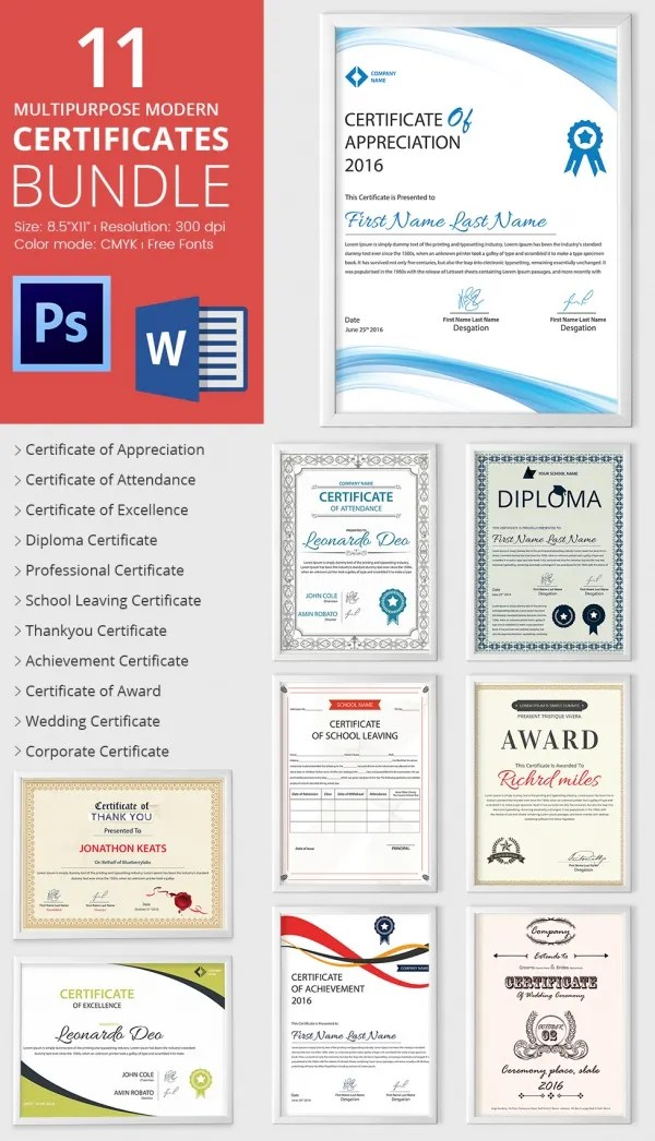 Achievement Award Template - 12+ Word, PDF Documents Download - awards template word