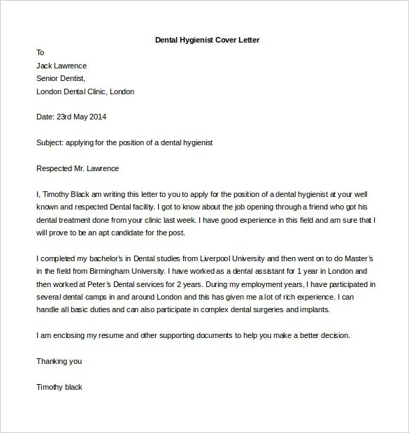 Cover Letter Template Academic Position  Sample Of Job