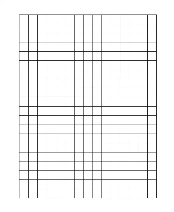 Graph Paper Template - 8+ Free Word, PDF Documents Download Free - making graph paper in word
