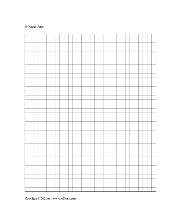 Graph Paper Template - 8+ Free Word, PDF Documents Download Free