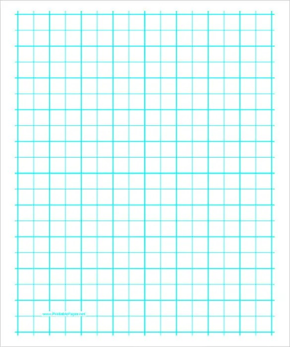 Graphing Paper Template \u2013 10+ Free PDF Documents Download! Free - free isometric paper