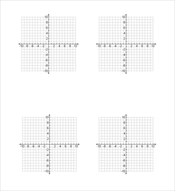 9 10x10 graph paper - Minimfagency - numbered graph paper template