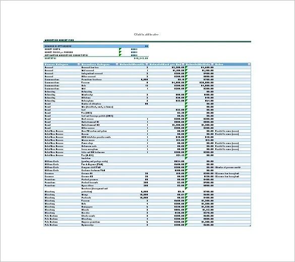 15+ Budget Plan Templates - Free Sample, Example, Format Download - budget plan template
