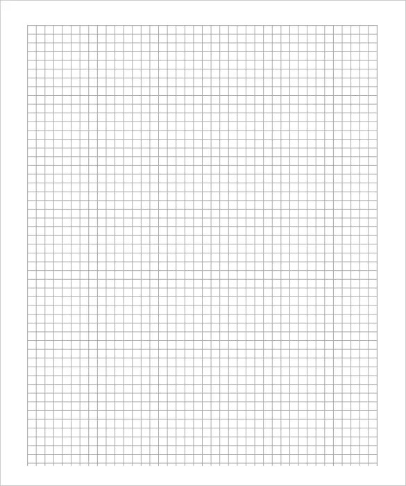 Free Graph Paper Template \u2013 8+ Free PDF Documents Download! Free - Graph Paper Template