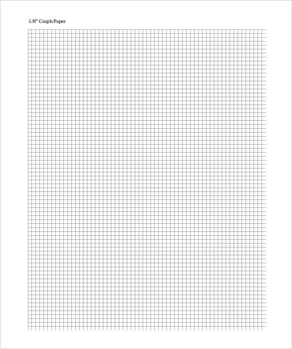Large Graph Paper Template \u2013 10+ Free PDF Documents Download! Free