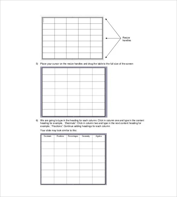 Jeopardy Template for Teachers - 10+ Free Word, PDF, PPT Documents - jeopardy game template