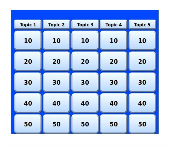 6+ Keynote Jeopardy Templates - Free Sample, Example, Format - sample jeopardy powerpoint