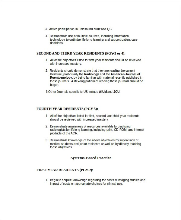 Ultrasound Technician Resume - 6+ Free PDF Documents Download Free - ultrasound tech resume