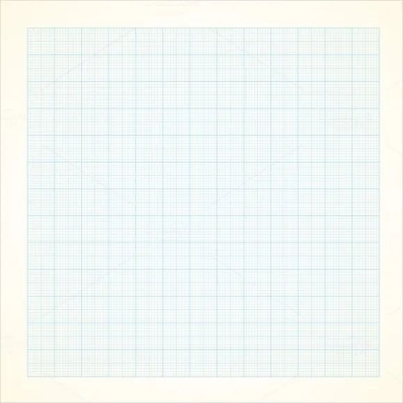 graph paper background in word