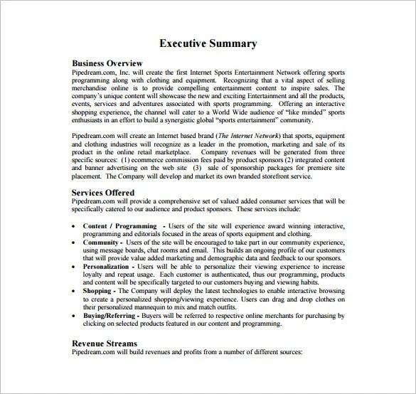 free sample business plan - Maggilocustdesign