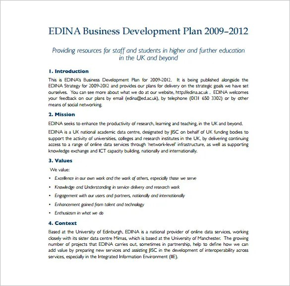 19+ Business Plan Templates - Free Sample, Example, Format Download - business plans sample