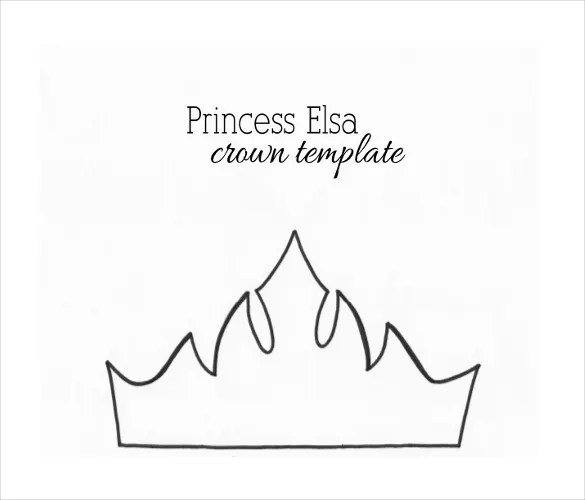 21+ Paper Crown Templates - PDF, DOC Free  Premium Templates - crown template