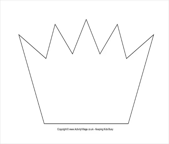 Prince Crowns Printable  Prince Crown Template Make Royal