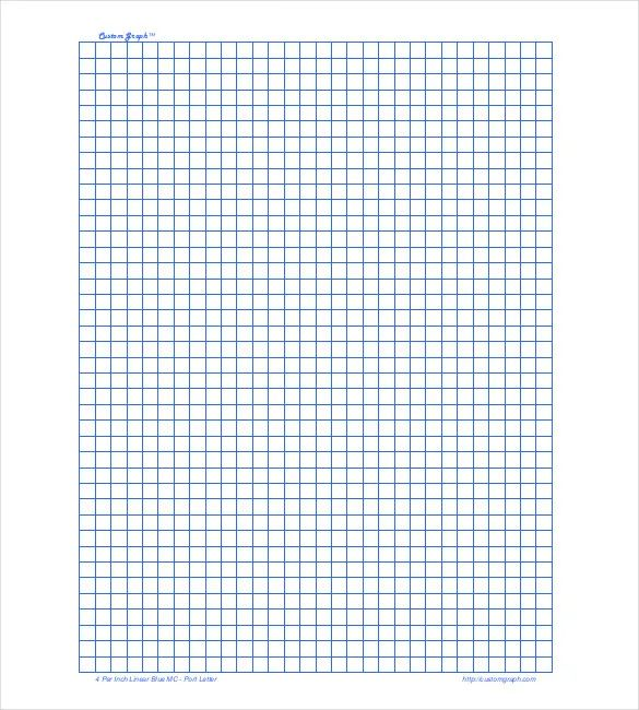 graph paper 8 x 11
