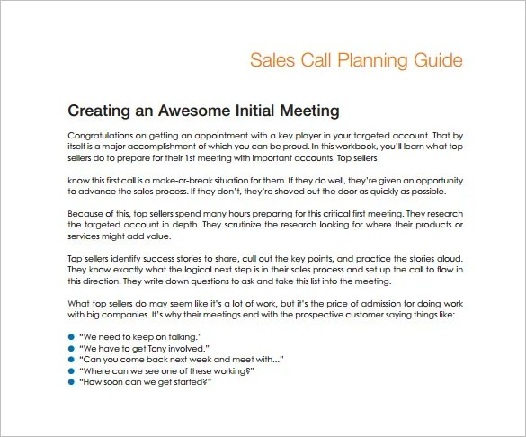 Sales Plan Template - 23+ Free Sample, Example, Format Free