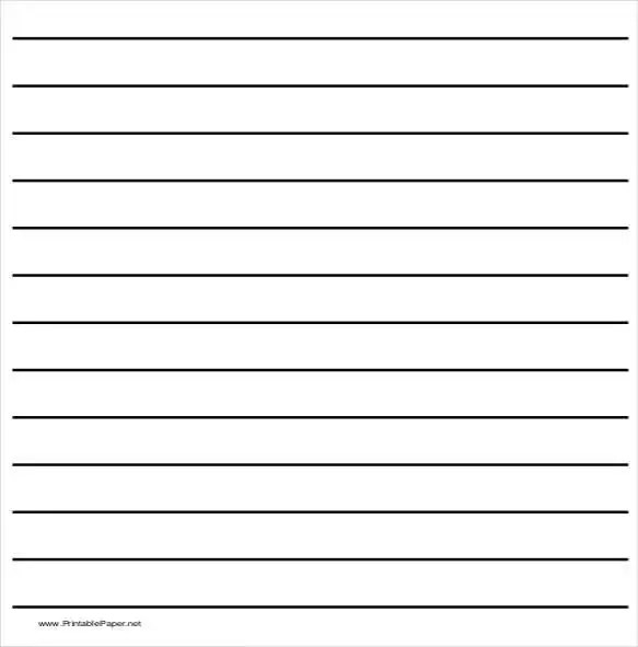 10+ Writing Paper Templates \u2013 Free Sample, Example, Format Download