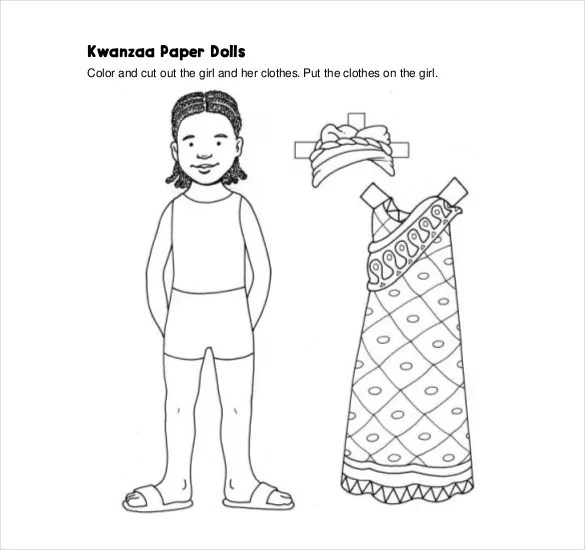 12 Paper Doll Templates U2013 Free Sample Example Format Download