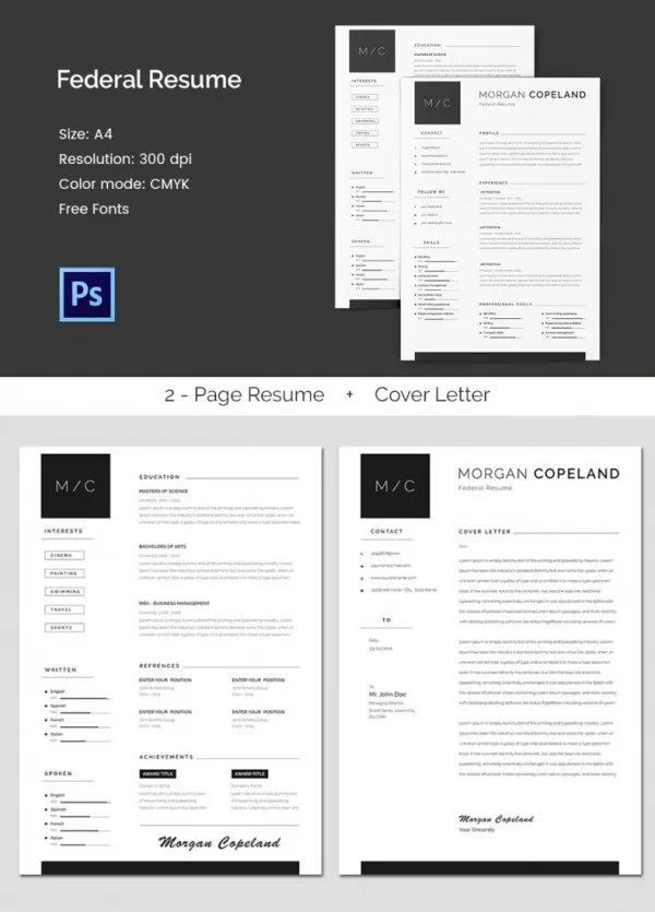 MAC Resume Template u2013 44+ Free Samples, Examples, Format Download - stand out resume templates