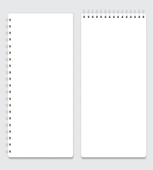 8+ Notebook Paper Templates - Free Sample, Example, Format Download - note paper template