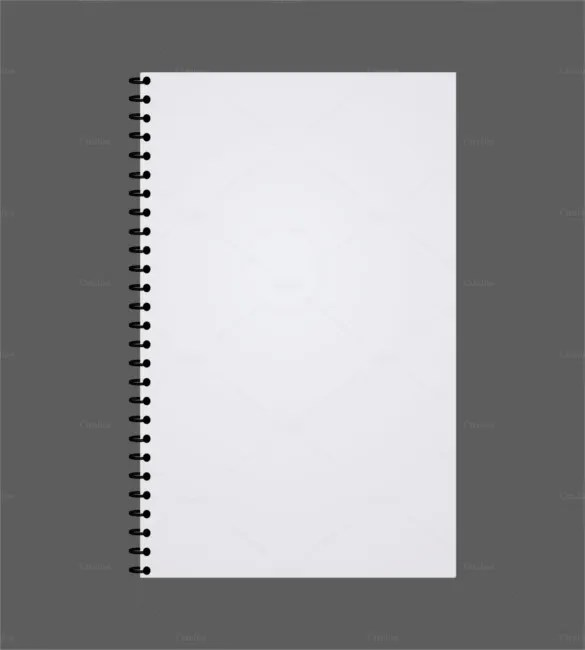 8+ Notebook Paper Templates - Free Sample, Example, Format Download - notepad template for word