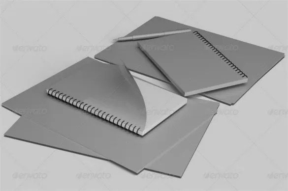 Comfortable 8 Notebook Paper Templates Free Sample Example Format ...