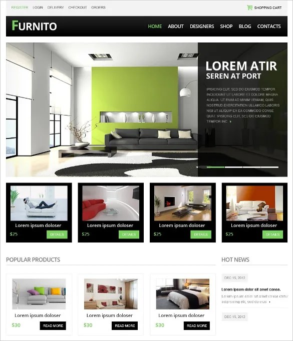 14+ eCommerce Drupal Themes  Templates Free  Premium Templates