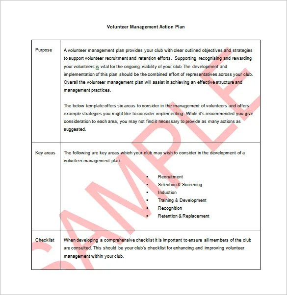 9+ Action Plan Templates u2013 Free Sample, Example, Format Download - plan of action format