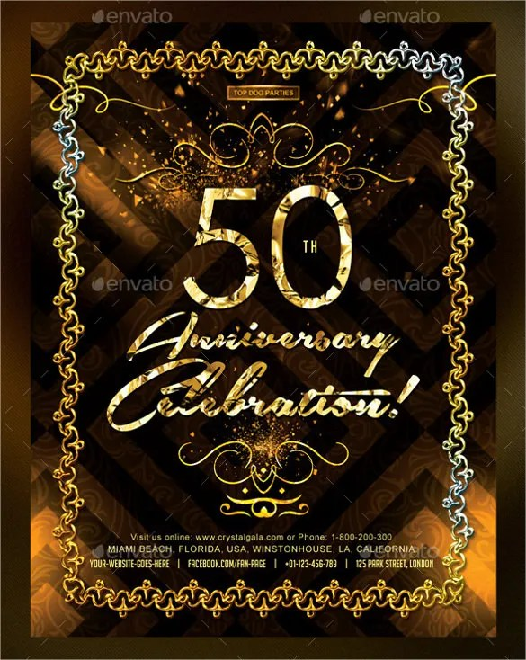45+ 50th Birthday Invitation Templates \u2013 Free Sample, Example - online birthday invitation maker for free