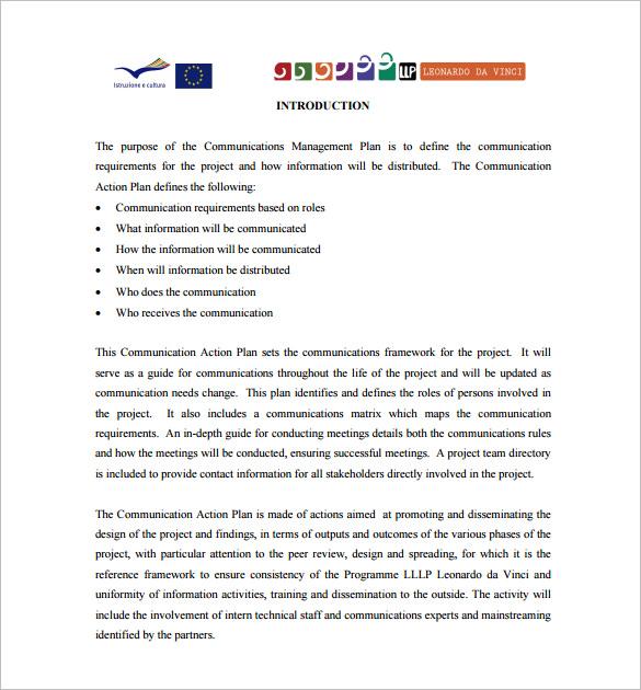 16+ Communication Plan Templates - Free Sample, Example, Format