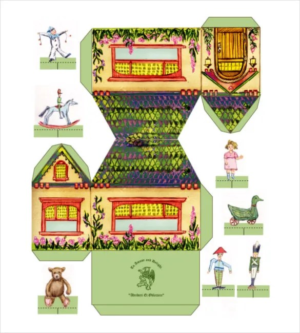 13+ Paper House Templates - Free Sample, Example, Format Download
