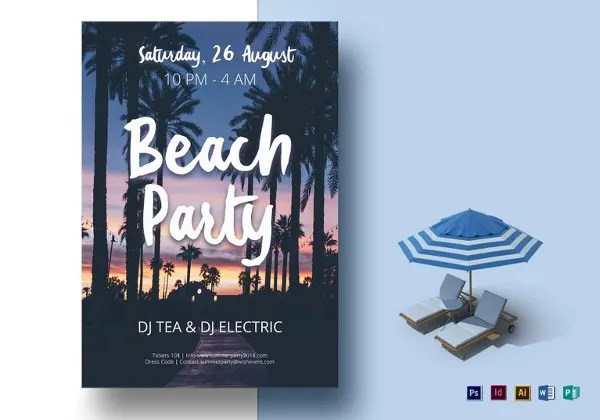 24+ Word Party Flyer Templates Free Download Free  Premium Templates - free party flyer templates for microsoft word