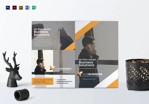 26+ Word Bi Fold Brochure Templates Free Download Free  Premium