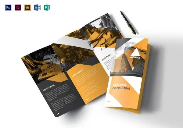 Tri Fold Brochure Templates - 56+ Free PSD, AI, Vector EPS Format - tri fold business brochure