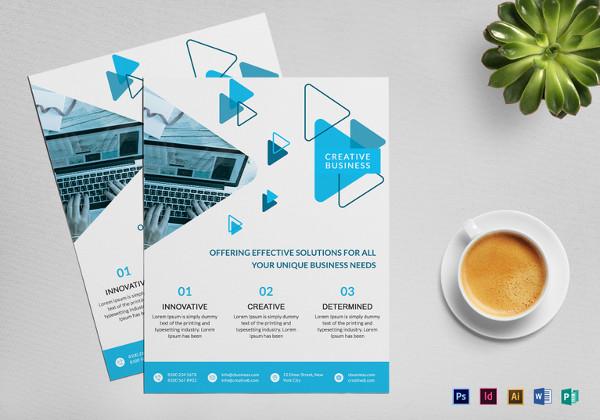 41+ Business Flyer Templates \u2013 Free PSD, Illustrator Format Download